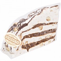 Soft Nougat Slice with  Chocolate Cream Filling