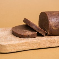 Chocolate Marzipan Slice