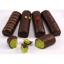 Chocolate Covered Pistachio Marzipan Bar