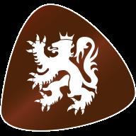 Marbled Caramel Heart
