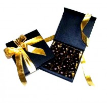 Dumon Chocolate Gingers in Black Presentation Box